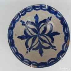 Antigüedades: CUENCO EN CERÁMICA DE FAJALAUZA - SIGLO XIX. Lote 269964598