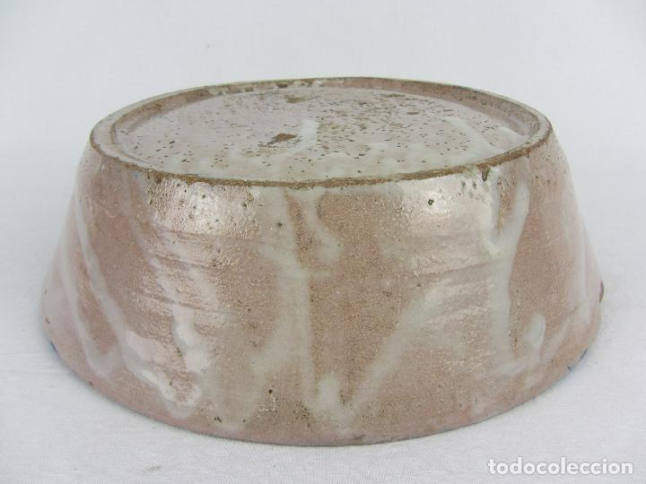 Antigüedades: Fuente en cerámica azul de Fajalauza, siglo XIX - Foto 5 - 269966678