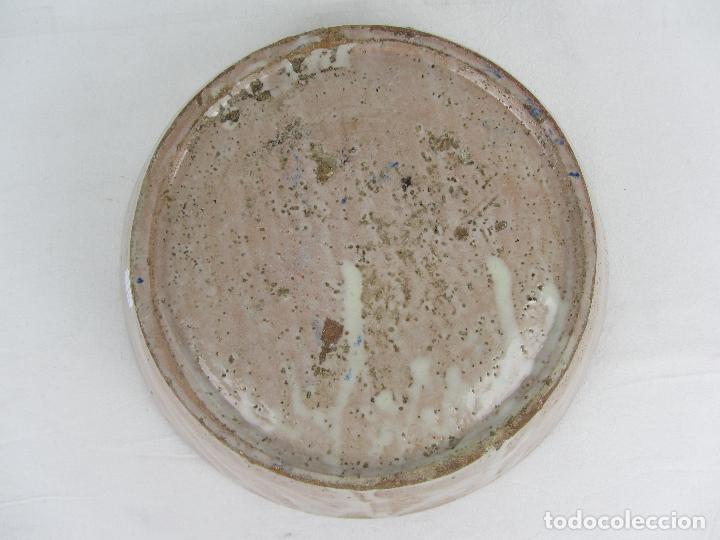 Antigüedades: Fuente en cerámica azul de Fajalauza, siglo XIX - Foto 6 - 269966678