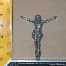 Antigüedades: PEQUEÑO CRISTO METAL. Lote 269977323