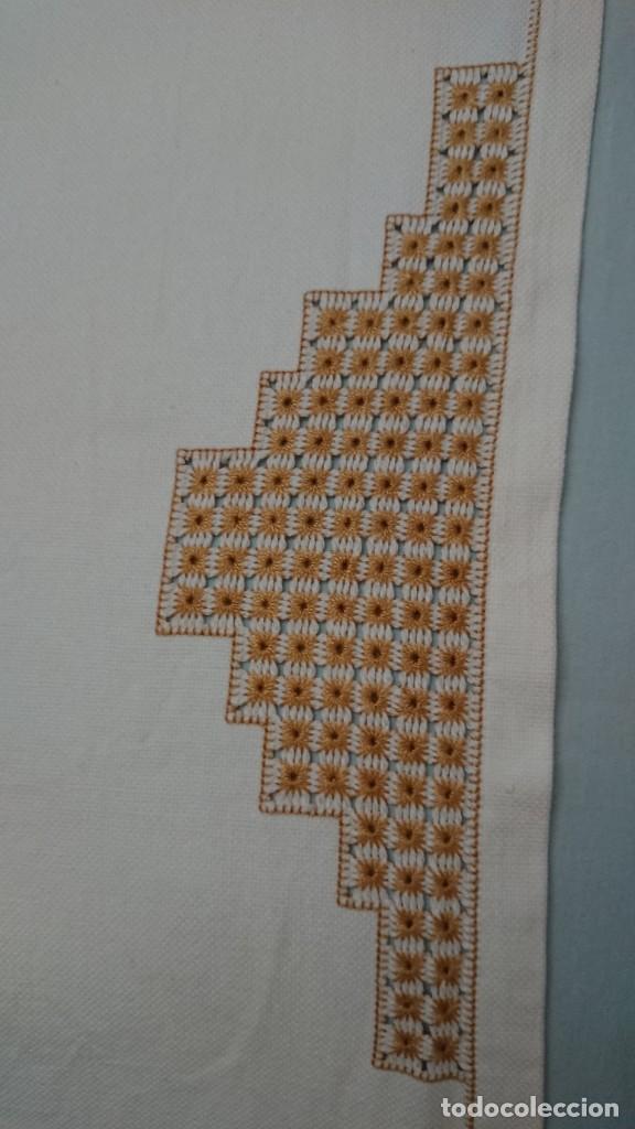 Antigüedades: ANTIGUA MANTELERIA DE 10 SERVICIOS, HECHA A MANO Y ALGODÓN, PANAMÁ - Foto 3 - 269983813