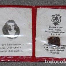 Antigüedades: RELIQUIA SANTA MARAVILLAS DE JESUS-02. Lote 269983843