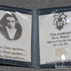 Antigüedades: RELIQUIA SANTA MARAVILLAS DE JESUS-03. Lote 269983898