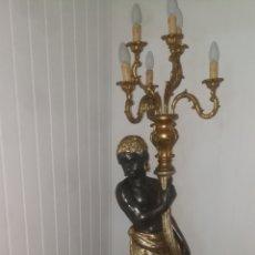 Antigüedades: LAMPARA. Lote 270111033