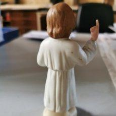 Antigüedades: NIÑO JESÚS PRAGA BISCUIT 13CM FINALES S. XIX. Lote 270118403