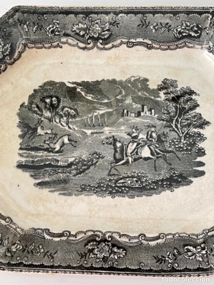 Antigüedades: FUENTE OCHAVADA DE CARTAGENA - S. XIX - Foto 2 - 270129998