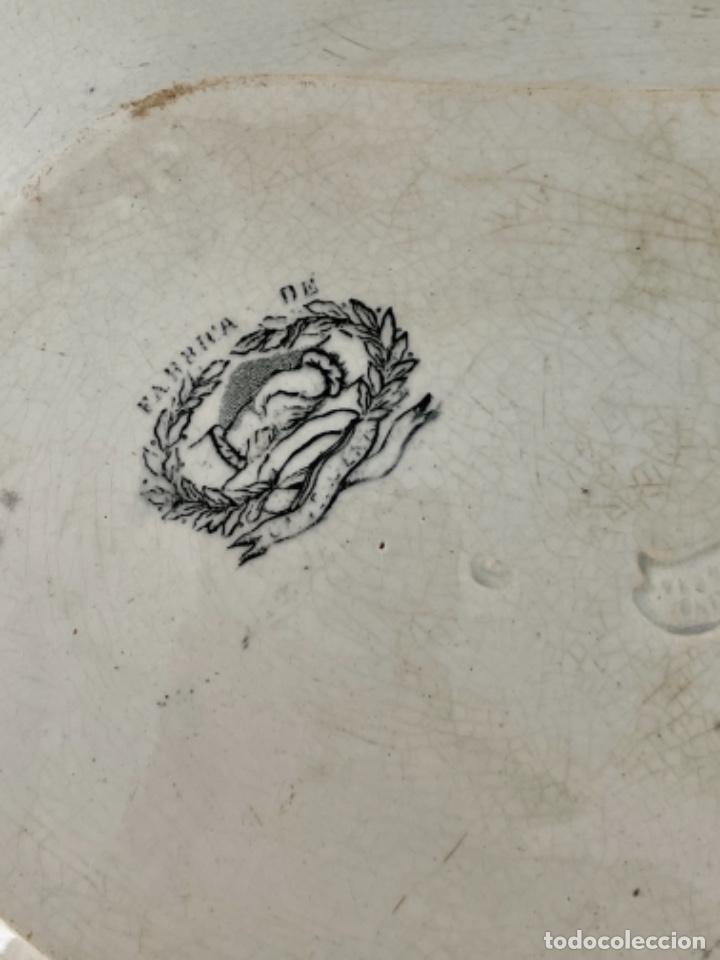 Antigüedades: FUENTE OCHAVADA DE CARTAGENA - S. XIX - Foto 7 - 270129998