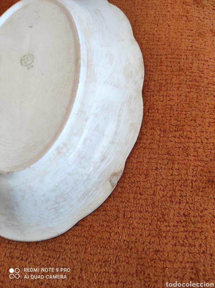 Antigüedades: Antigua bandeja fuente San claudio - Foto 2 - 270230643