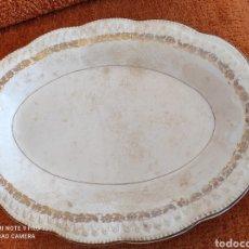 Antigüedades: ANTIGUA BANDEJA FUENTE SAN CLAUDIO. Lote 270230643
