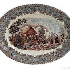 Antigüedades: FUENTE BANDEJA LA CARTUJA PICKMAN DE SEVILLA. Lote 270235793