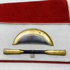Antigüedades: PEINETA DE GEISYA JAPONESA KUSHI Y KANZASHI. Lote 270255838