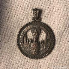 Antigüedades: MEDALLA / MEDALLÓN XIX CENTENARIO VIRGEN DEL PILAR EN ZARAGOZA. Lote 270391533