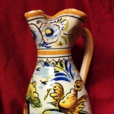 Antigüedades: JARRA DE CERAMICA DE TRIANA. Lote 270393713