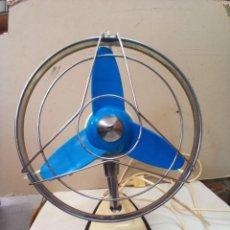 Antigüedades: ANTIGUO VENTILADOR RETRO-SPACE MARCA S&P FUNCIONANDO A 125V. Lote 270542943