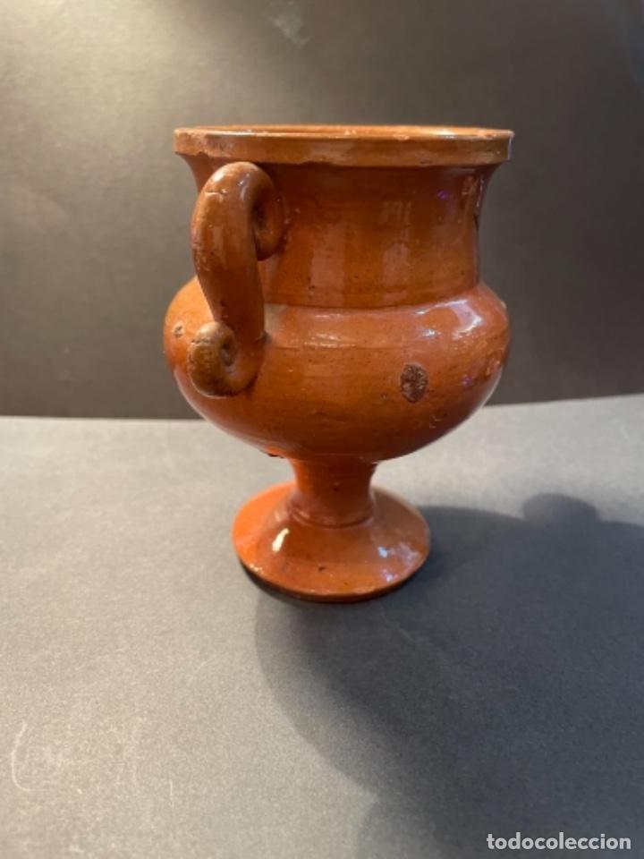CERÀMICA POPULAR CATALANA - ANTIGUA JARRA CON DOS ASAS PROBABLEMENTE LA BISBAL (Antigüedades - Porcelanas y Cerámicas - La Bisbal)