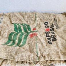 Antigüedades: SACO DE ARPILLERA TELA DE YUTE SACO DE CAFE O GRANO. Lote 270610623