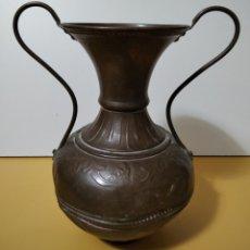Oggetti Antichi: ANTIGUO JARRÓN DE COBRE.. Lote 270651198