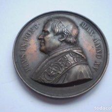 Antigüedades: 73SCD14 ESTADOS PAPALES PIUS IX ANNO XV (1860) MEDALLA DE BRONCE POR BIANCHI. Lote 270660618