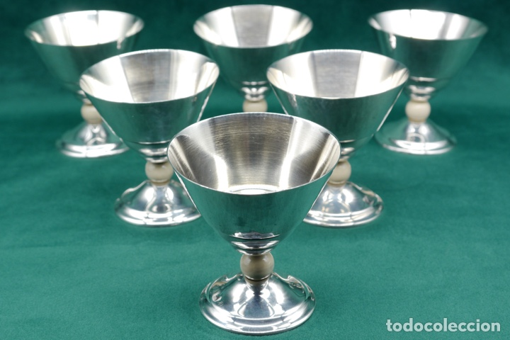 Antigüedades: Copas de plata de ley - Foto 3 - 270747758