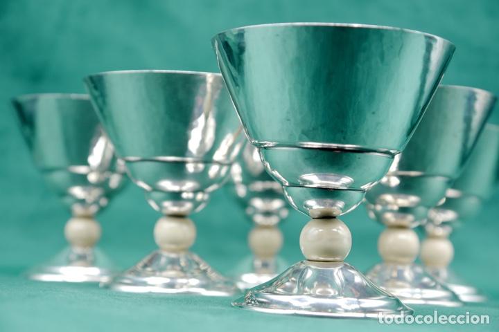 Antigüedades: Copas de plata de ley - Foto 4 - 270747758