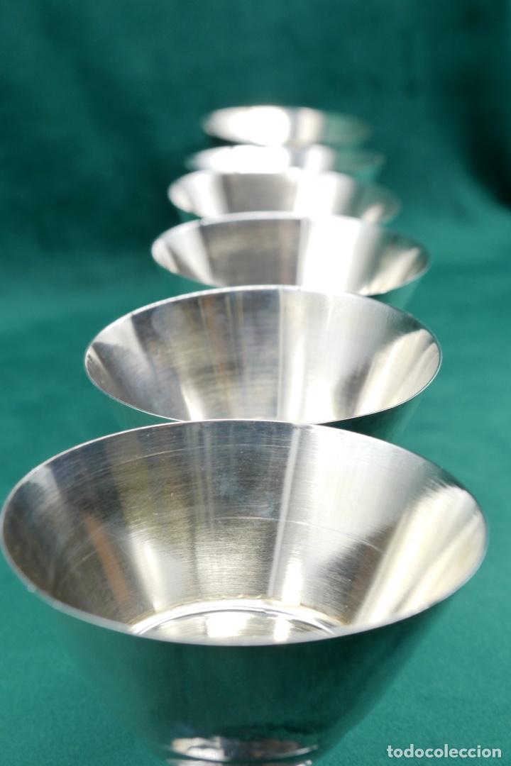 Antigüedades: Copas de plata de ley - Foto 5 - 270747758