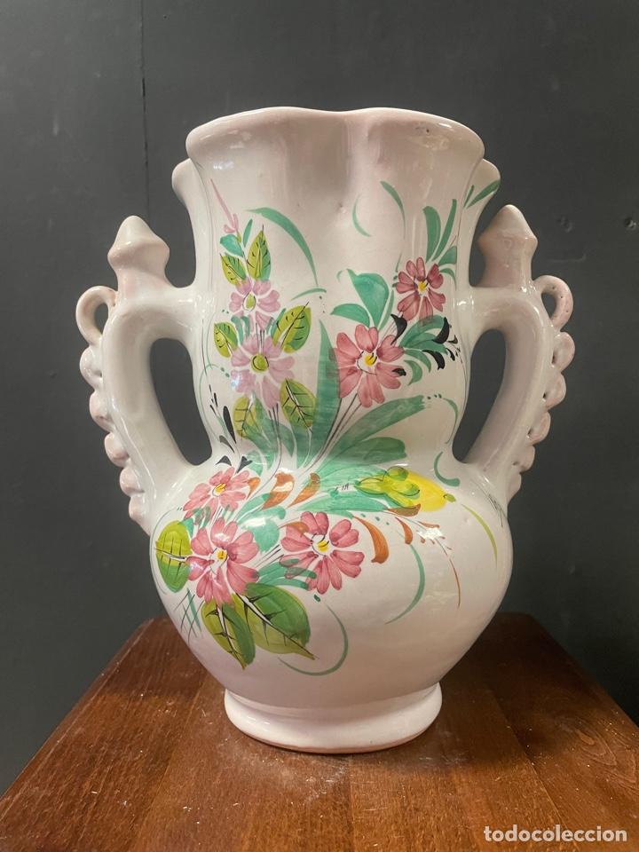 BONITA JARRA DE NOVIA MURCIANA PORCELANA LARIO (Antigüedades - Porcelanas y Cerámicas - Lario)