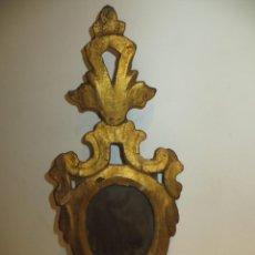 Antigüedades: CORNUCOPIA ANTIGUA EN MADERA,VER DESCRIPCION MEDIDAS. Lote 270889783