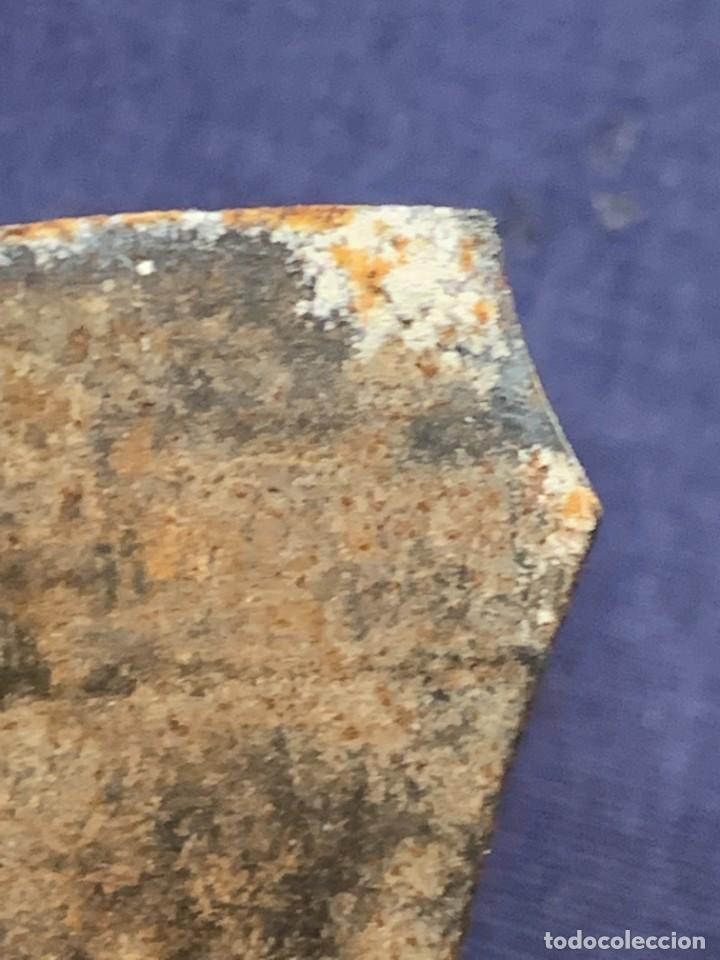 Antigüedades: ABRELATAS UTIL COCINA ANTIGUO PPIO S XX MANGO MADERA 19X5CMS - Foto 3 - 270921138