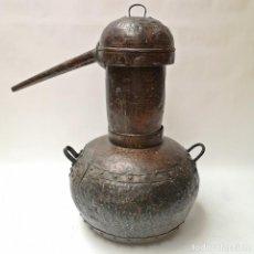 Antigüedades: ALAMBIQUE ANTIGUO DE COBRE. Lote 270934723