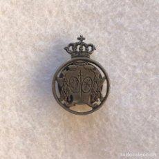 Antiquités: SEMANA SANTA SEVILLA - ANTIGUA INSIGNIA DE SOLAPA DE LA HERMANDAD DE LOS GITANOS. Lote 270961598