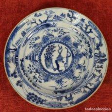 Antigüedades: PLATO DE PORCELANA ESMALTADA. PINTADO A MANO. CHINA .SIGLO XIX-XX.. Lote 271034723