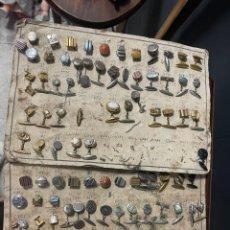 Antigüedades: MOSTRADO DE 105 GEMELOS. Lote 271079753