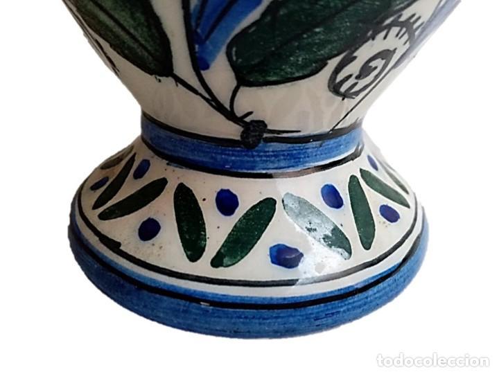 Antigüedades: CERÁMICA DE TALAVERA, PRECIOSO JARRÓN S XIX - Foto 4 - 271079768