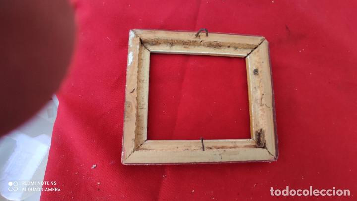 Antigüedades: marco pequeño antiguo - Foto 3 - 271145908