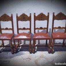 Antigüedades: CONJUNTO DE SILLAS. Lote 271356518