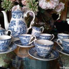 Antigüedades: JUEGO CAFÉ INGLÉS MYOTT. Lote 271390238