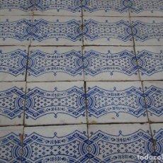 Antigüedades: LOTE DE AZULEJOS SIGLO XIX. Lote 271584063