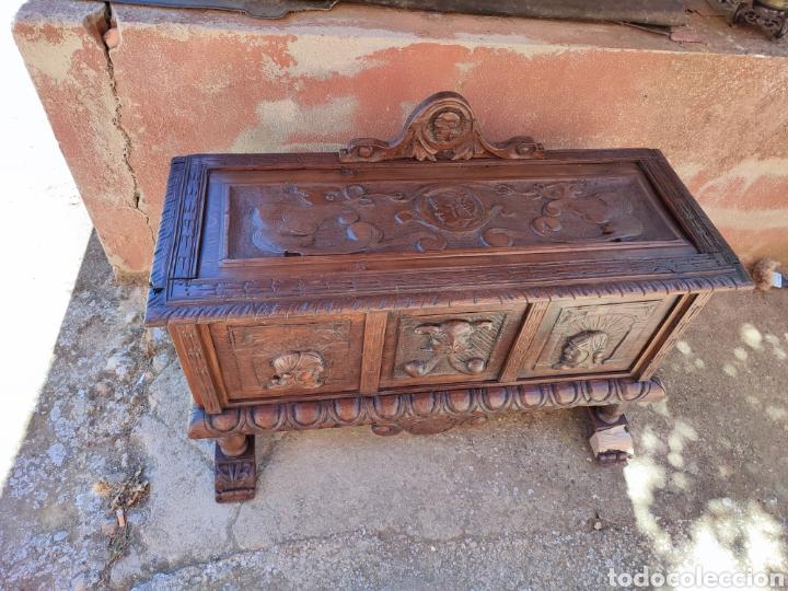 Antigüedades: Arca tallada - Foto 2 - 271598388