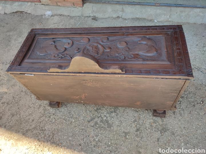 Antigüedades: Arca tallada - Foto 4 - 271598388