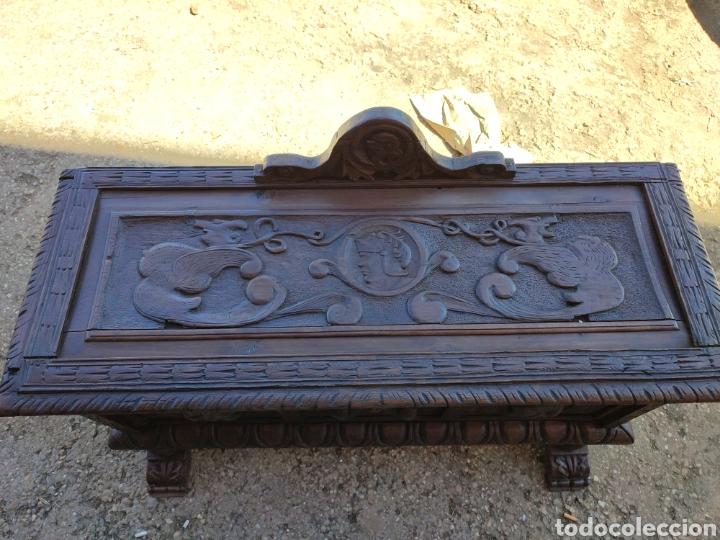 Antigüedades: Arca tallada - Foto 5 - 271598388