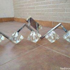 Antigüedades: LAMPARA DE TECHO MODERNISTA 5 FOCOS. Lote 271637733