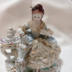 Antigüedades: FIGURA DE PORCELANA FINA. Lote 271814503