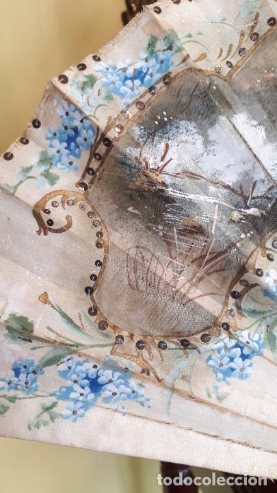 Antigüedades: Abanico del siglo XIX. - Foto 2 - 271847113