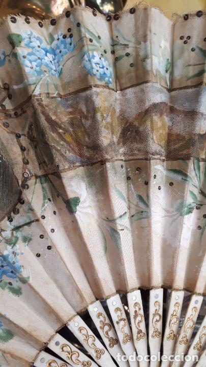 Antigüedades: Abanico del siglo XIX. - Foto 3 - 271847113