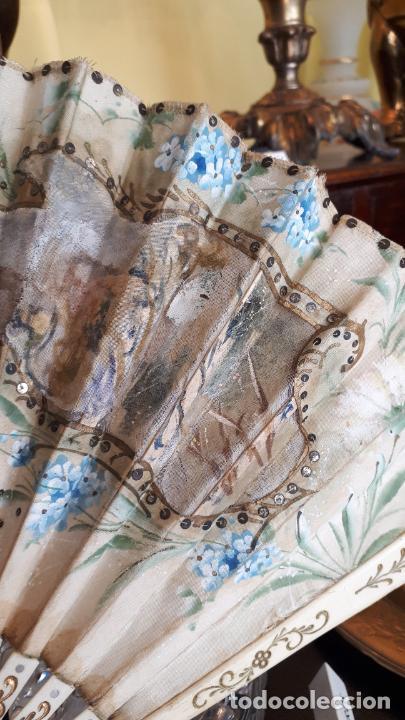 Antigüedades: Abanico del siglo XIX. - Foto 4 - 271847113