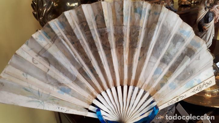 Antigüedades: Abanico del siglo XIX. - Foto 7 - 271847113