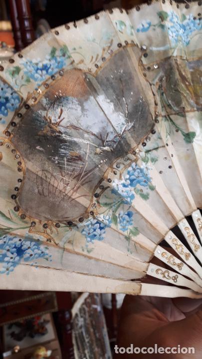 Antigüedades: Abanico del siglo XIX. - Foto 17 - 271847113