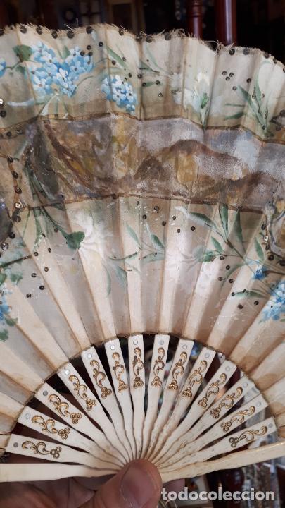 Antigüedades: Abanico del siglo XIX. - Foto 18 - 271847113