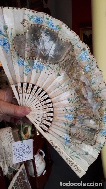Antigüedades: Abanico del siglo XIX. - Foto 19 - 271847113