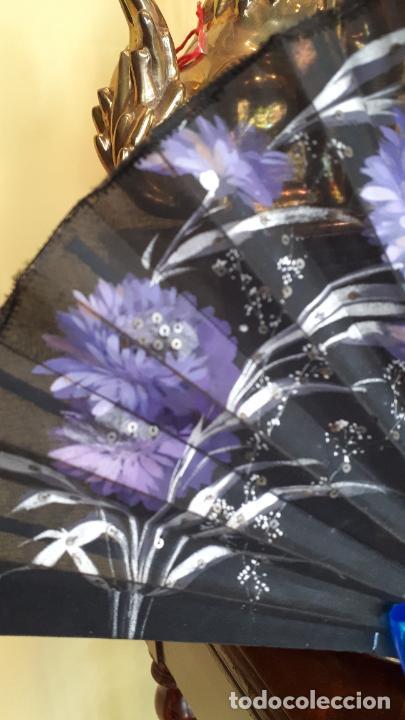 Antigüedades: Abanico de luto - Foto 2 - 271847663